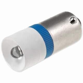 LED-lampa blå 230VAC