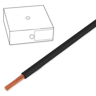 Kopplingstråd 0,5mm2 svart