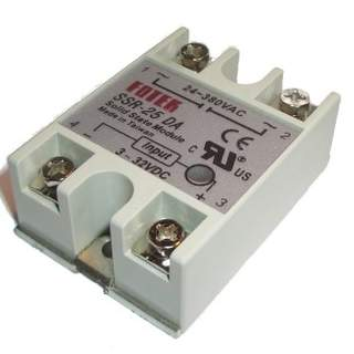 Solid State Relay 25A AC
