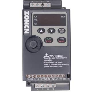 NZ100 Frekvensomriktare 0.75KW 230V