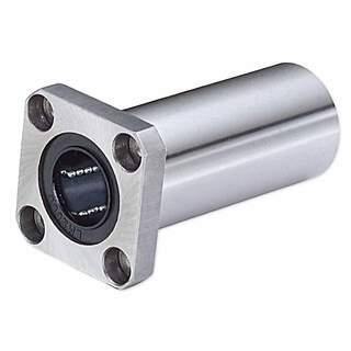 Kulbussning 16mm dubbelt lager med fläns L68mm