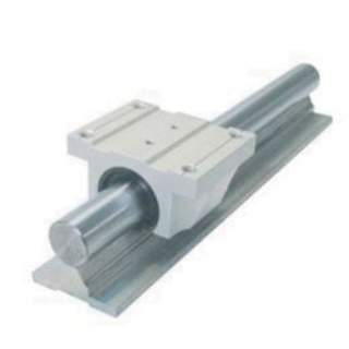 Supported rail 25mm per 100mm