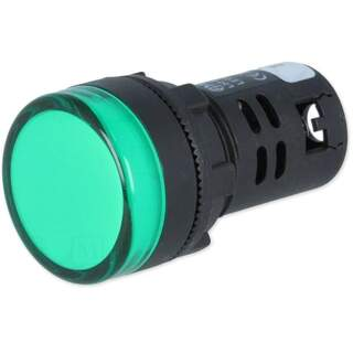 Kontroll lampa, grön 22mm