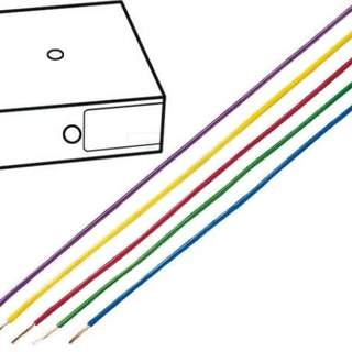 Kopplingstråd 0,75mm2 mörkblå