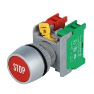 Pushbutton Stop 22mm