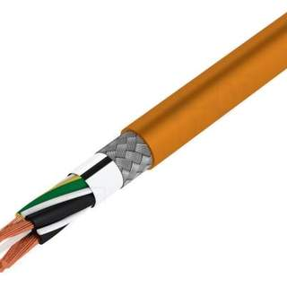 Skärmad flexibel kabel för kabelkedja 4x2.5mm2 (x10m)