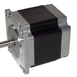 Stegmotor 1Nm Nema 23 med bakre axel