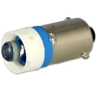 LED lampa Blå 23mm