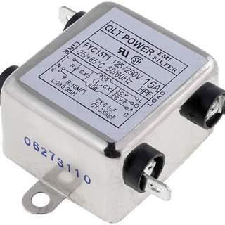 Avstörningsfilter 230VAC 15A