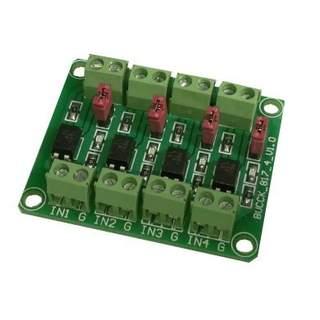 Optokopplarkort 24v-5v