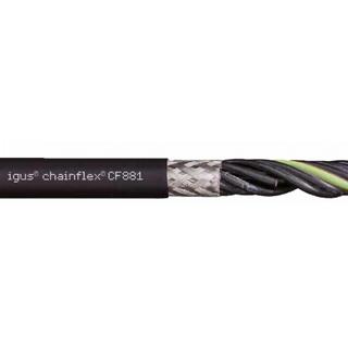 Skärmad Flexibel kabel för kabelkedja 4Gx1mm2
