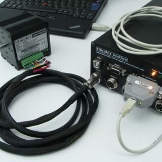 SimplexMotion 3-Axlar Komplett CNC-kit USB