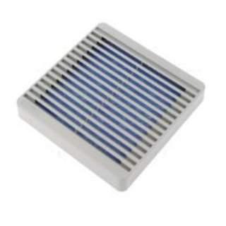 Fläktskydd med filter 120x120mm
