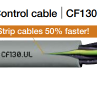 Flexible cable for cable chain 3Gx0.75mm2