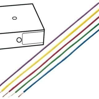 Kopplingstråd 0.75mm2 gul-grön