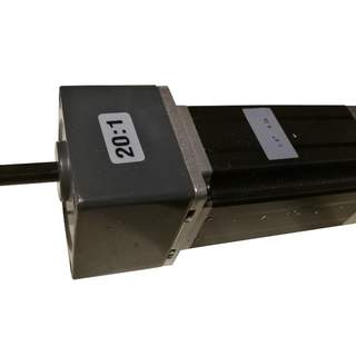 Stegmotor 2.8Nm Nema 23 med växellåda 20:1