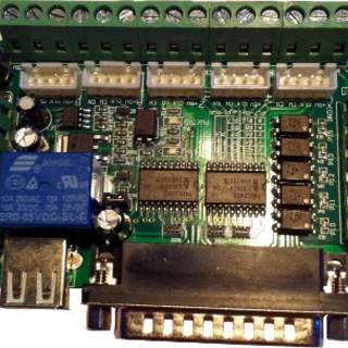 Break Out Board with opto Isolated  inputs and 0-10v