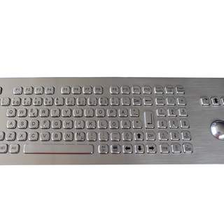 Rostfritt tangentbord med trackball F, NUM IP65