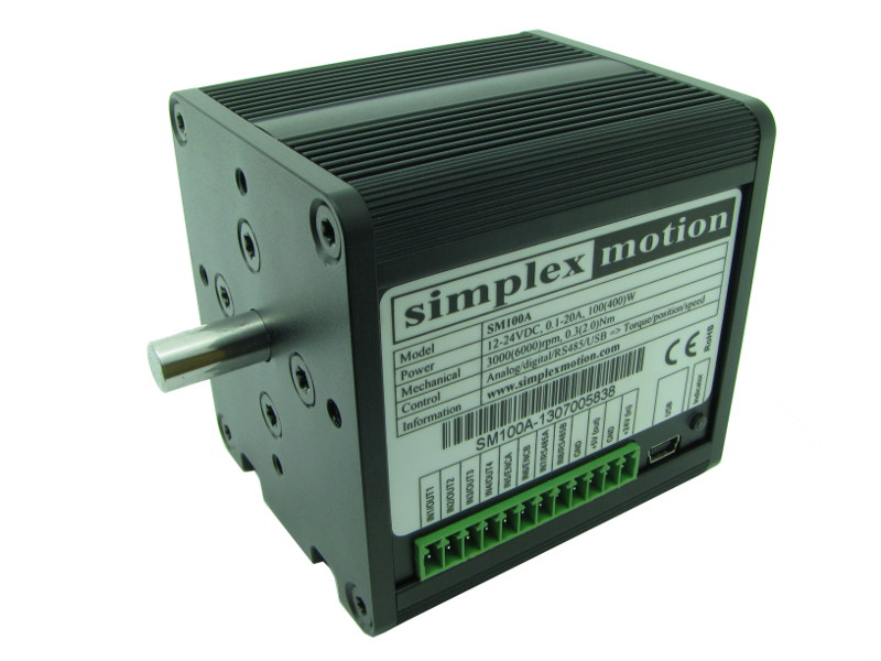 Servo Motor with built in driver 100W (400W)
