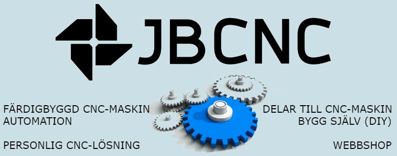 JBCNC Två verksamhetsområden: färdigbyggd CNC-maskin och DIY